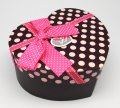 Gift Box 3 in 1 - Heart (Pink Polka)